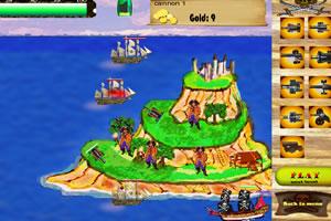 海盗岛防御