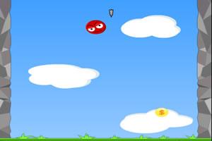 跳跃小红球