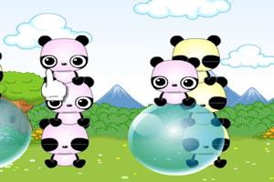 熊猫叠罗汉