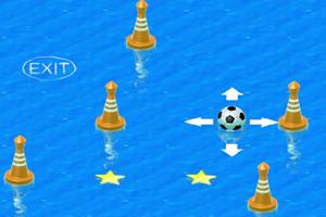 落水的足球