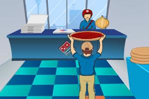 比萨店打工