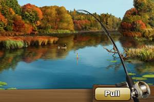 放假去钓鱼