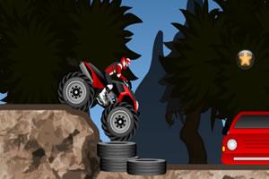 四驱摩托障碍赛