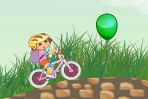 朵拉骑自行车
