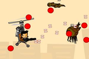 直升机灭怪物