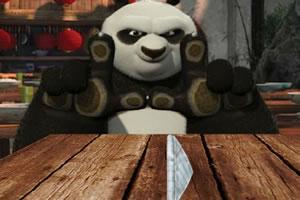 功夫熊猫扔纸团