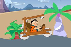 原始石器赛车