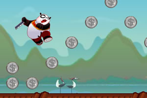 功夫熊猫跳跃