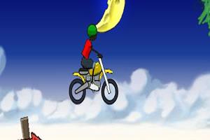 小黑人摩托车