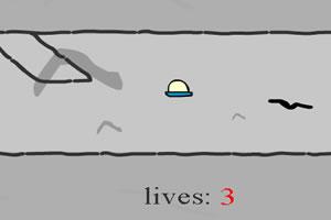 UFO逃出山洞