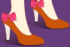 朱迪高跟鞋设计