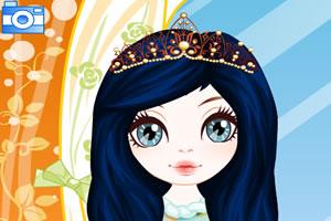 小公主的夏日发型
