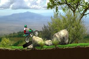 摩托车山地障碍赛