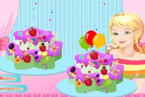自制草莓水果蛋糕