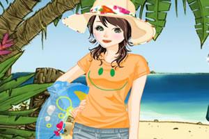 黄金海岸沙滩装