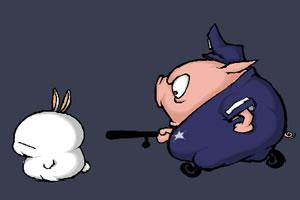 流氓兔大战猪警官