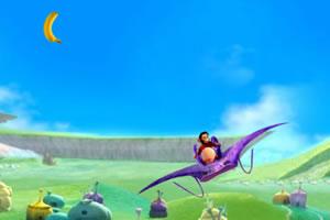 空中接香蕉比赛