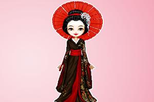 和服舞姬装扮