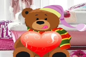 装扮泰迪熊