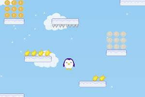 小企鹅向上跳