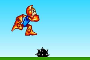 奔跑的机器人