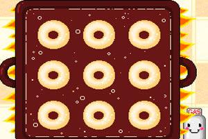 烘烤甜甜圈