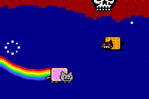 霓虹猫隧道穿越