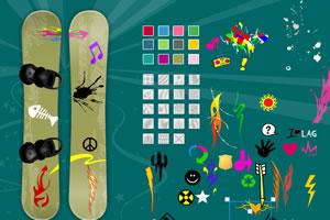 设计滑雪板