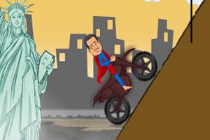 超人摩托车手