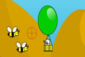 小熊热气球