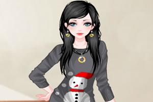 冬季连衣裙