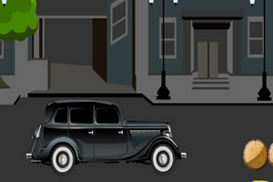 经典老式汽车