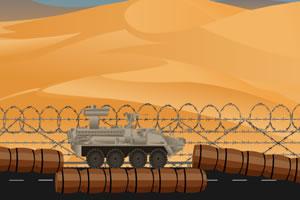 沙漠装甲坦克