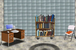 逃离图书馆房间