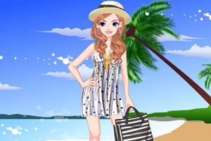 海滩美丽装扮