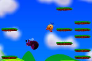 小蜜蜂向右跳