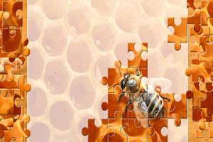 小蜜蜂拼图