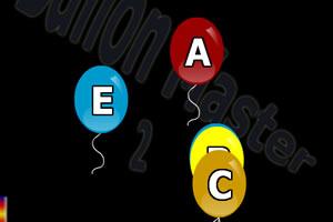 气球打字母