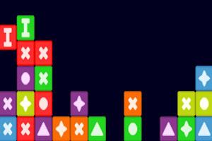 多色方块消消看