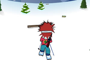 雪地两项赛