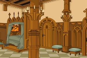 逃离城堡里的卧室