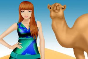 沙漠公主装扮