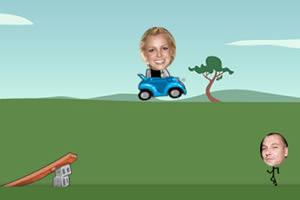 布兰妮开车