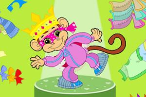 疯狂小猴装扮秀
