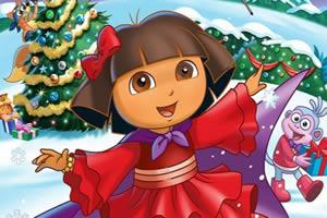 朵拉欢度圣诞夜