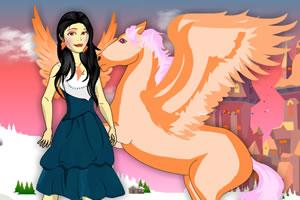 公主与飞马
