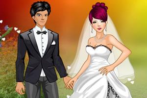 浪漫的婚纱照