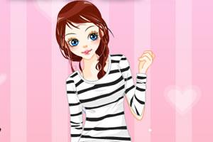 粉色女生装