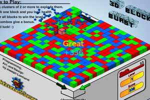 3D消除方块