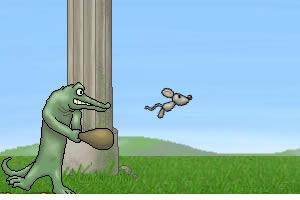 鳄鱼棒打老鼠